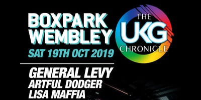 The UKG Chronicle #BoxParkWembley
