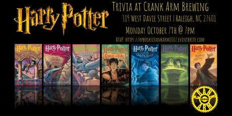 Harry Potter Books Trivia at Crank Arm Brewing tickets
