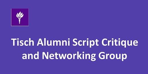 October 2019 Tisch Alumni Peer Script Feedback Exchange Program