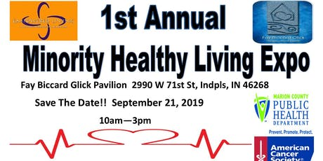 Minority Healthy Living Expo tickets