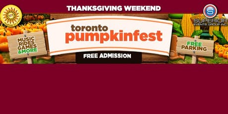 Annual Thanksgiving Pumpkin Festival - Toronto & Richmond Hill  tickets