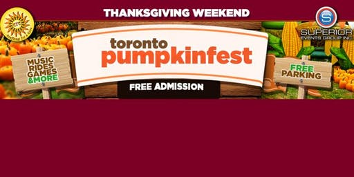 Annual Thanksgiving Pumpkin Festival - Toronto & Richmond Hill