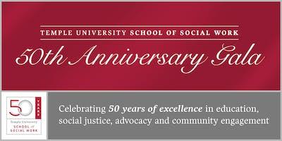 Temple University School of Social Work 50th Anniversary