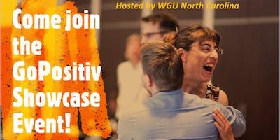 Free GoPositiv Showcase Event - Raleigh-Durham (RTP)