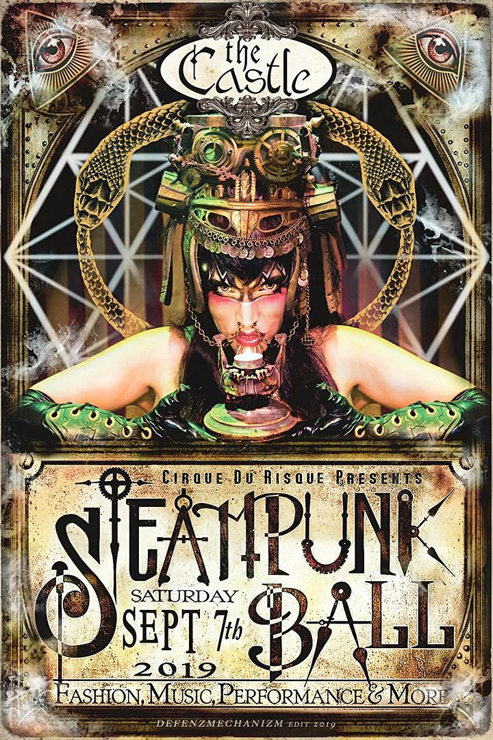 Steampunk Ball Fall 2019 @ The Castle image