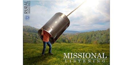 Missional Listening  tickets