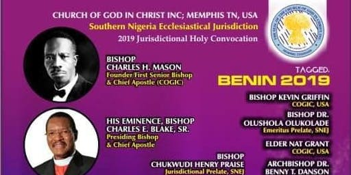 COGIC Southern Nigeria Ecclesiastical Jurisdiction Holy Convocation 2019