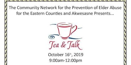 Tea and Talk  tickets