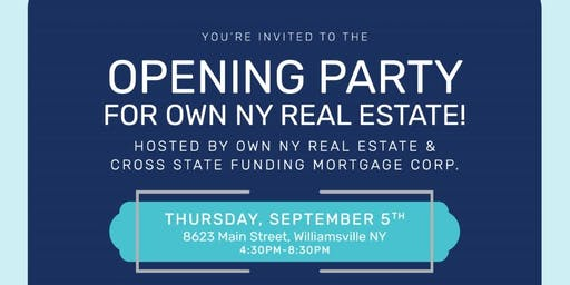 Own NY Real Estate Grand Re-Opening!
