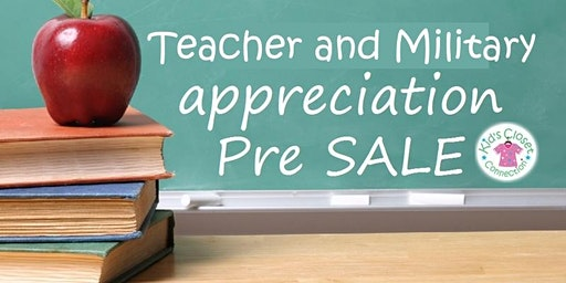 Teacher/Military Presale Spring 2020