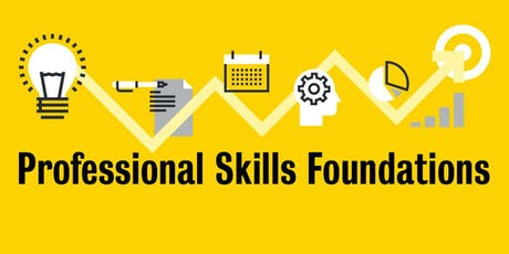 Professional Skills Foundations: Introductory Workshop (Columbia Lake Village, Fall 2019) tickets