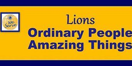 Horn Lake Lions Club monthly meeting tickets