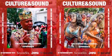 CULTURE&SOUND: pre-Carnival experience tickets