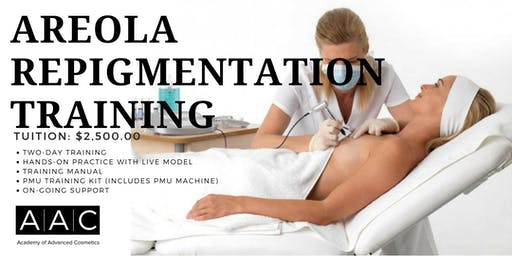 AREOLA REPIGMENTATION CERTIFICATION TRAINING