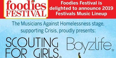 Foodies Festival Oxford - The Skalectrics DAY TICKET SUNDAY 25 AUGUST 2019 ONLY
