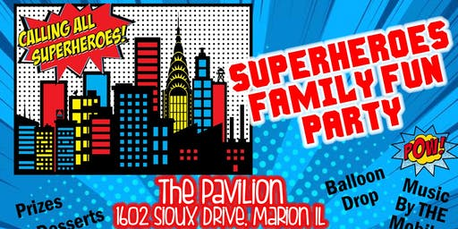 Superheroes Family Fun Party