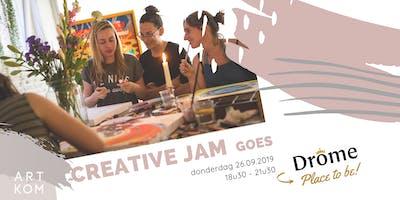 Drôme x ARTKOM: Creative JAM
