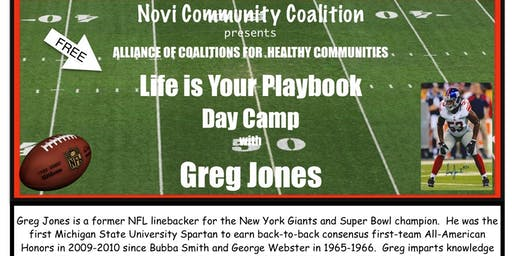 Life is Your Playbook Summer Camp 2019