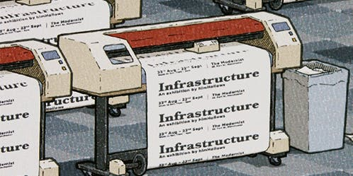 Infrastructure - an exhibition by himHallows