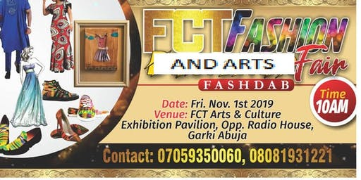 FCT FASHION AND ART FAIR ABUJA