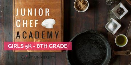 Junior Chef Fun @ Girls U Hartsville tickets