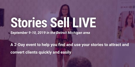 Stories Sell Live tickets