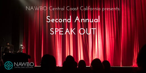 SPEAK OUT presented by NAWBO Central Coast California