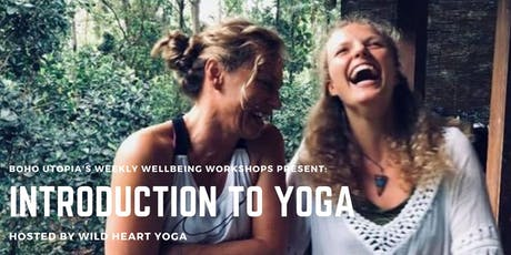 Weekly Wellbeing Workshop - Introduction to Yoga with Wild Heart Yoga tickets