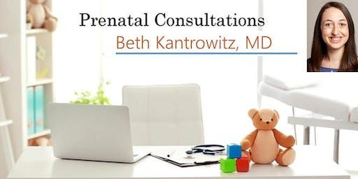 Prenatal Consultation - Meet Beth Kantrowitz, MD, Pediatrician