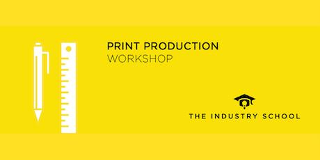 Print Production Workshop tickets