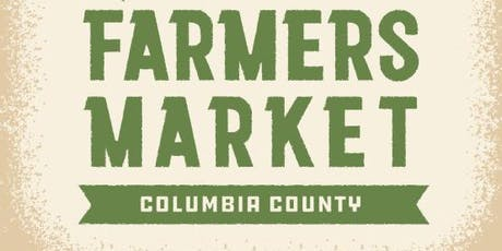 Columbia County Farmers Market - FREE EVENT tickets