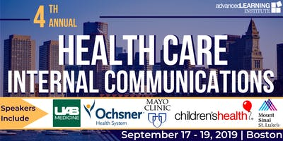 4th Annual Health Care Internal Communications