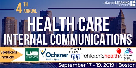 4th Annual Health Care Internal Communications  tickets