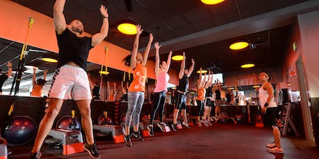 Popup Workout with Orangetheory tickets