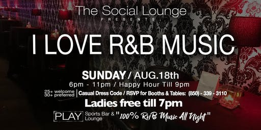 The Social Lounge (100% R&B Music All Night)