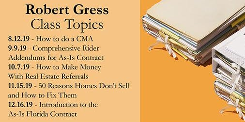 Robert Gress Oct.: ALT. SPRINGS: Make Money with Referrals