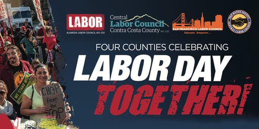 Four Counties Celebrating Labor Day Together!