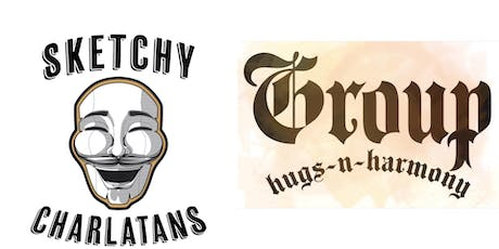 Improv Double Header: Sketchy Charlatans & Group Hugs N' Harmony  tickets