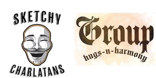 Improv Double Header: Sketchy Charlatans & Group Hugs N' Harmony