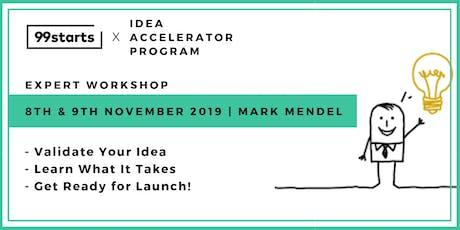 Idea Accelerator Program | Thinking about a Start Up Idea... Start Here tickets