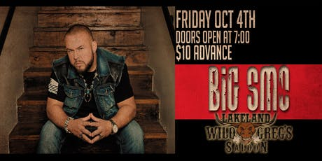 Big Smo live at Wild Greg's Saloon tickets
