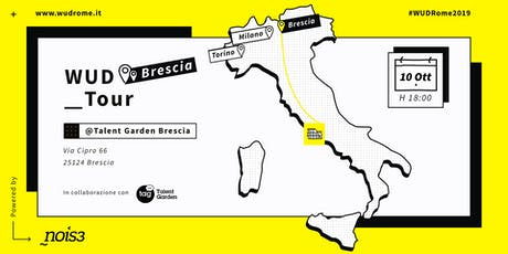 WUD Tour Brescia biglietti