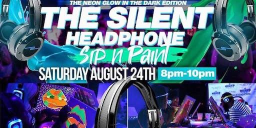520 Silent Headphone Events presents Silent Headphone Sip N Paint