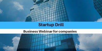 Startup drill Webinar