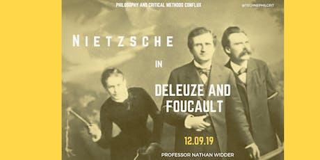 Nietzsche in Deleuze and Foucault tickets