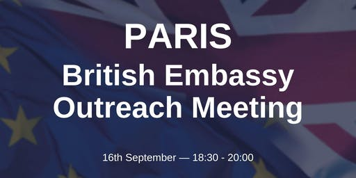 British Embassy Outreach - PARIS