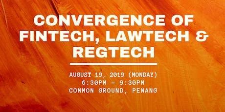 Convergence - Fintech, Lawtech & Regtech tickets
