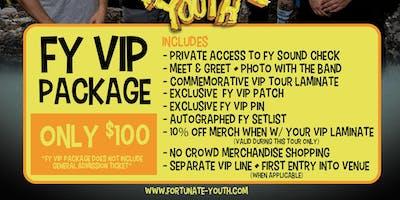 FY VIP PACKAGE 2019 - Hartford, CT - 9/15/19