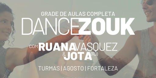 DANCE ZOUK com Ruana Vasquez & Jota | AULAS AGOSTO
