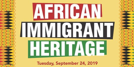 African Immigrant Heritage tickets